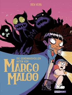 Die geheimnisvollen Akten von Margo Maloo von Weing,  Drew, Wieland,  Matthias