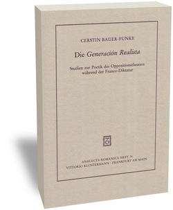 """Die """"Generación Realista"""" von Bauer-Funke,  Cerstin"""