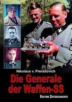 Die Generale der Waffen-SS von Preradovich,  Nikolaus von