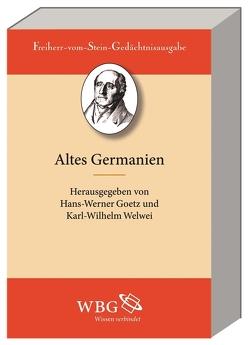 Die Germanen von Goetz,  Hans-Werner, Patzold,  Steffen, Welwei,  Karl-Wilhelm