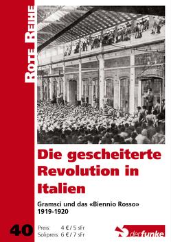 Die gescheiterte Revolution in Italien von Kohler,  Martin