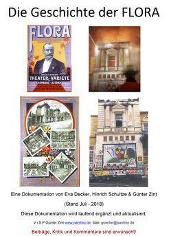 Die Geschichte der FLORA von Decker,  Eva, Zint,  Günter