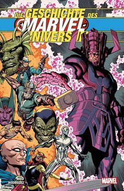 Die Geschichte des Marvel-Universum von Rodriguez,  Javier, Waid,  Mark