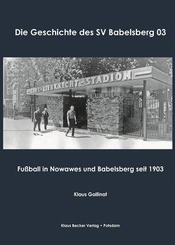 Die Geschichte des SV Babelsberg 03 von Gallinat,  Klaus