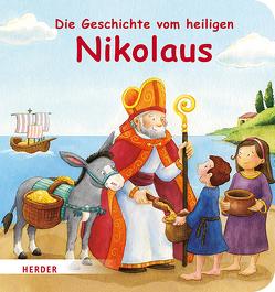 Die Geschichte vom heiligen Nikolaus von Görtler,  Carolin, Schickel,  Rebecca