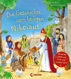 Die Geschichte vom heiligen Nikolaus von Benn,  Amelie, Schuld,  Kerstin M.