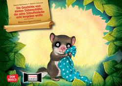 Die Geschichte vom kleinen Siebenschläfer, der seine Schnuffeldecke nicht hergeben wollte. Kamishibai Bildkartenset. von Bohlmann,  Sabine, Schoene,  Kerstin