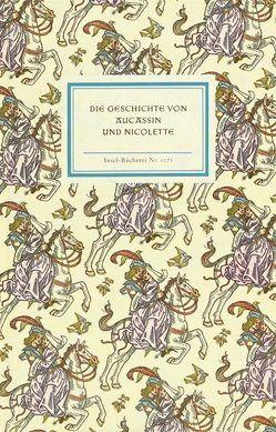 Die Geschichte von Aucassin und Nicolette von Hausmann,  Paul, Kredel,  Fritz, Lange,  Wolfgang