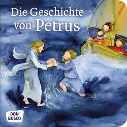 Die Geschichte von Petrus. Mini-Bilderbuch von Lefin,  Petra, Nommensen,  Klaus-Uwe