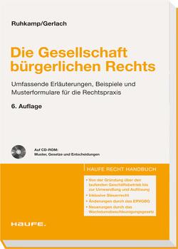 Die Gesellschaft bürgerlichen Rechts von Gerlach,  Joachim, Ruhkamp,  Martin