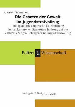 Die Gesetze der Gewalt im Jugendstrafvollzug von Schumann,  Carsten