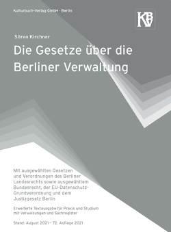 Die Gesetze über die Berliner Verwaltung von Kirchner,  Sören