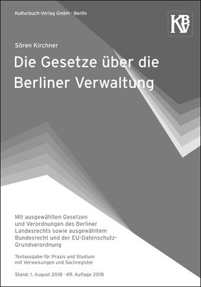 Die Gesetze über die Berliner Verwaltung von Kirchner