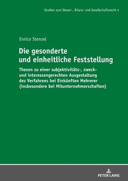 Die gesonderte und einheitliche Feststellung von Stenzel,  Enrico