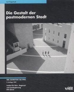 Die Gestalt der postmodernen Stadt von Fingerhuth,  Carl