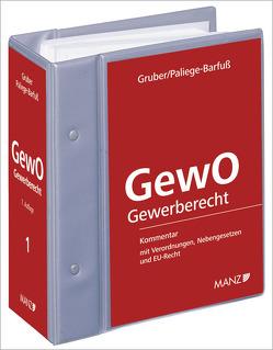 Die Gewerbeordnung – GewO mit 17. Erg.-Lfg. von Gruber,  Gunther, Paliege-Barfuß,  Sylvia
