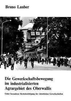 Die Gewerkschaftsbewegung im industrialisierten Agrargebiet des Oberwallis von Lauber,  Bruno