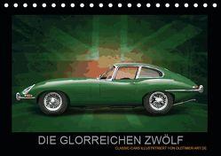 DIE GLORREICHEN ZWÖLF (Tischkalender 2019 DIN A5 quer) von Freiwah,  Tom, Oldtimer-Art.de