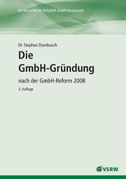 Die GmbH-Gründung von Dornbusch,  Stephan