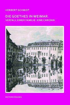Die Goethes in Weimar von Aehling,  Georg, Petershoff,  Thomas, Richter,  Gerhard, Schmidt,  Herbert, Wingertszahn,  Christof