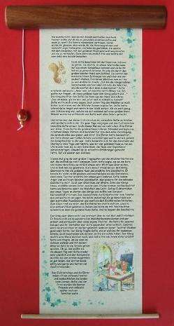 """""""Die goldene Nuss"""" neues, großes Holzrollbuch von Petra Sellmayr-Vaas, von Vaas,  Petra"""