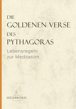 Die Goldenen Verse des Pythagoras von Gerlach,  Gerda von, Wedemeyer,  Inge von