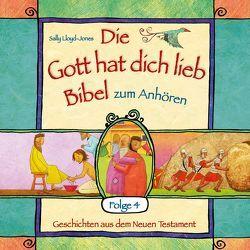 Die Gott hat dich lieb Bibel zum Anhören (4) von Lloyd-Jones,  Sally, Schepmann,  Philipp