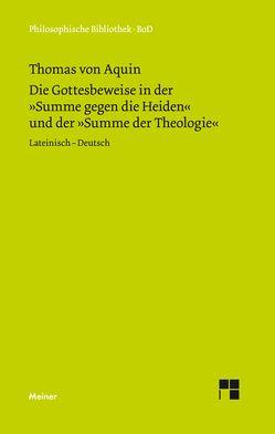 Die Gottesbeweise von Seidl,  Horst, Thomas von Aquin