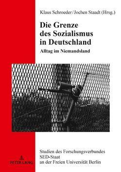 Die Grenze des Sozialismus in Deutschland von Schroeder,  Klaus, Staadt,  Jochen