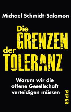 Die Grenzen der Toleranz von Schmidt-Salomon,  Michael