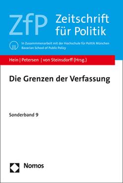 Die Grenzen der Verfassung von Hein,  Michael, Petersen,  Felix, von Steinsdorff,  Silvia