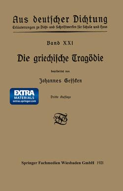 Die griechische Tragödie von Geffcken,  Johannes