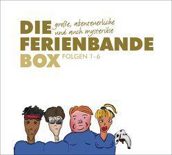 Die große, abenteuerliche und auch mysteriöse Ferienbande Box von Schwind,  Kai, Wiegand,  Katrin