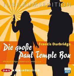 Die große Paul Temple Box von Cordes,  Annemarie, Deltgen,  René, Durbridge,  Francis
