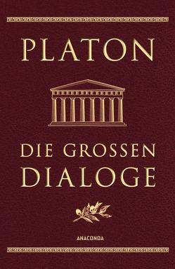 Die großen Dialoge (Cabra-Leder) von Platon, Schleiermacher,  Friedrich