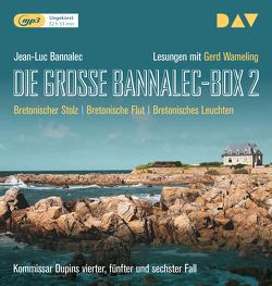 Die große Bannalec-Box 2 von Bannalec,  Jean-Luc, Wameling,  Gerd