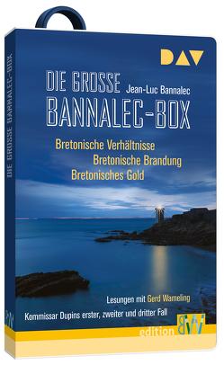 Die große Bannalec-Box von Bannalec,  Jean-Luc, Wameling,  Gerd