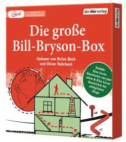 Die große Bill-Bryson-Box von Beck,  Rufus, Bryson,  Bill, Rohrbeck,  Oliver, Ruschmeier,  Sigrid, Vogel,  Sebastian