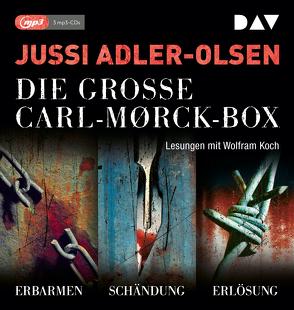 Die große Carl-Morck-Box 1 von Adler-Olsen,  Jussi, Koch,  Wolfram, Thiess,  Hannes