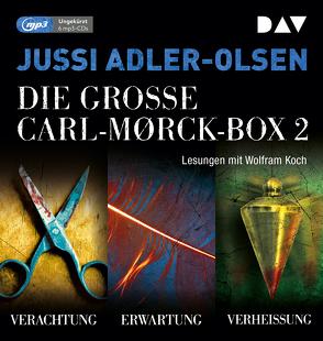 Die große Carl-Morck-Box 2 von Adler-Olsen,  Jussi, Koch,  Wolfram, Thiess,  Hannes