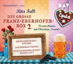 Die große Franz-Eberhofer-Box 2 von Falk,  Rita, Tramitz,  Christian
