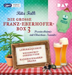 Die große Franz-Eberhofer-Box 3 von Falk,  Rita, Tramitz,  Christian