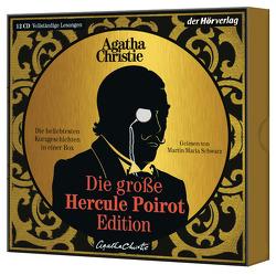 Die große Hercule-Poirot-Edition von Christie,  Agatha, Meinert,  Maria, Naujack,  Peter, Oes,  Adi, Poellheim,  Felix von, Reinhardt,  Sabine, Schwarz,  Martin Maria, Walter,  Edith