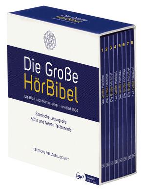 Die Große HörBibel. Ungekürzte, szenische Lesung. 8 MP3-CDs von Brückner,  Christian, Luther,  Martin, Mendl,  Michael, Rogée,  Marianne, Schepmann,  Philipp