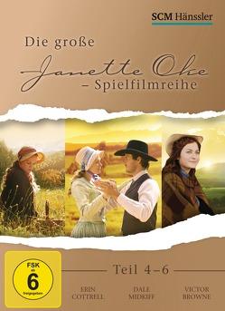 Die große Janette Oke-Spielfilmreihe Teil 4-6 von Cottrell,  Erin, Taylor-Compton,  Scout