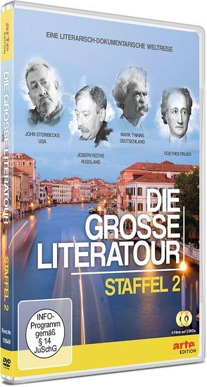 Die große Literatour 2 von Schäfer,  André
