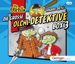 Die große Olchi-Detektive-Box 3 von Dietl,  Erhard, Iland-Olschewski,  Barbara, Langer,  Markus, Schöne,  Christoph