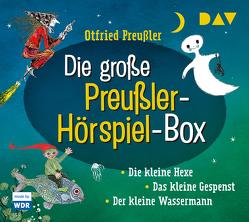 Die große Preußler-Hörspiel-Box von Gebhardt-Gayler,  Winnie, Maire,  Laura, Preussler,  Otfried, Tripp,  F J, u.v.a., Wawrczeck,  Jens