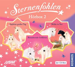 Die große Sternenfohlen Hörbox Folgen 4-6 (3 Audio CDs) von Chapman,  Linda