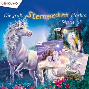 Die große Sternenschweif Hörbox Folgen 34-36 (3 Audio CDs) von Chapman,  Linda